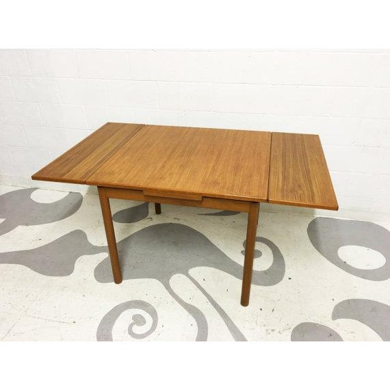 Mid-Century Modern Dining Table in Teak - Image 3 of 6