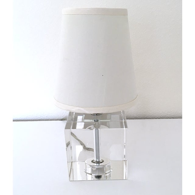 Glass Crystal Miniature Lamp For Sale - Image 7 of 7