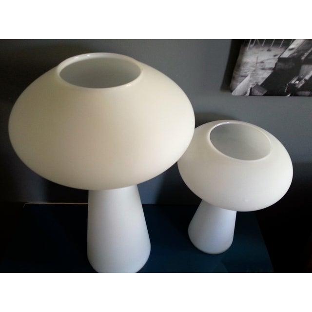 MidCentury Mod Mushroom Lamps, Lisa Johansson-Pape - Image 5 of 11