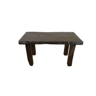 Live Edge Dining Table/Writing Desk -Tree Root For Sale