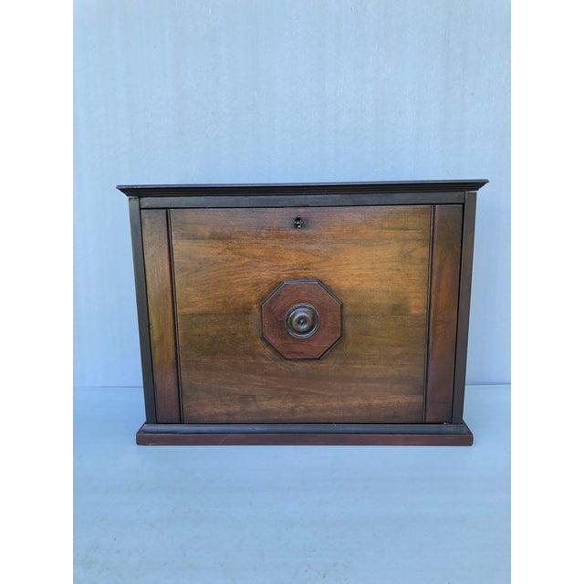 Antique Solid Wood Desk For Sale - Image 11 of 11