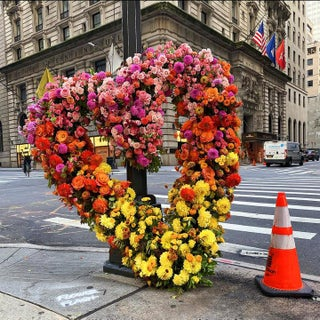 """""""Giant Heart"""" Contemporary Flower Flash Limited Edition Print by Lewis Miller For Sale"""