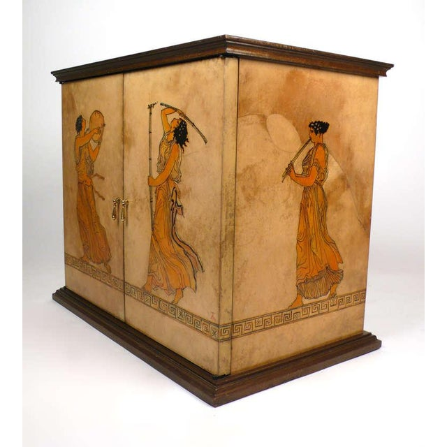 Modern Goatskin Cabinet For Sale - Image 3 of 10