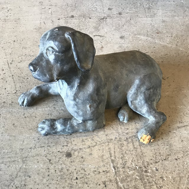 Labrador Dog Austin Statue by Merry Scottland For Sale - Image 9 of 9