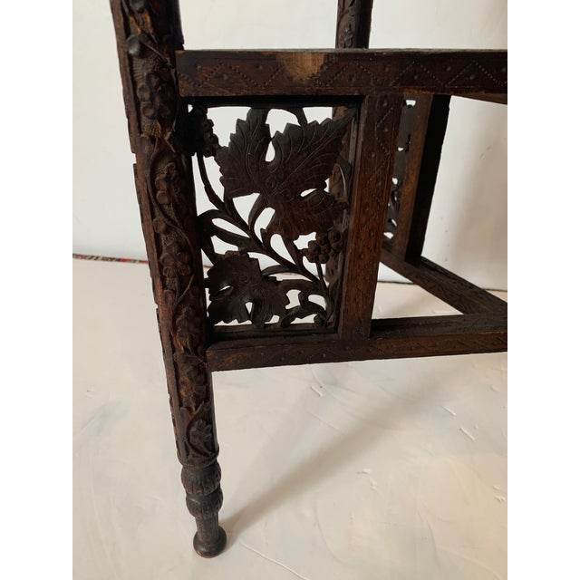 Round Moroccan Tray End Table For Sale In Philadelphia - Image 6 of 13