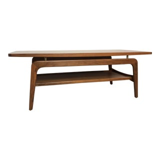 Danish Modern Design Within Reach Wood Coffee Table For Sale