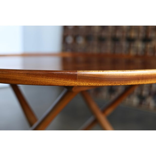 1950s Danish Modern Mogens Lassen for A.J. Iversen Center Table For Sale - Image 9 of 13