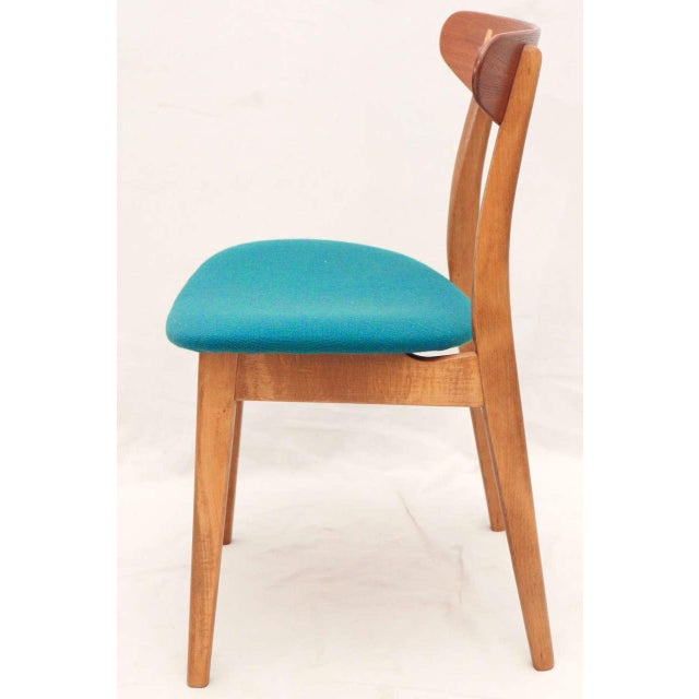 Set of 8 Hans Wegner CH-30 Dining Chairs For Sale In Los Angeles - Image 6 of 10