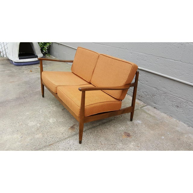 Dux Classic Scandinavian Modern Sofa - Image 4 of 8