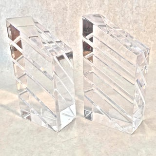 Vintage Astrolite Herb & Ritts Lucite Bookends - a Pair Preview