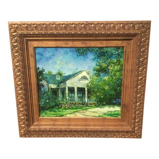 Summer House Oil Painting For Sale