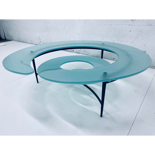 """Giorgio Cattelan """"Spiral"""" Coffee Table for Cattelan Italia For Sale - Image 4 of 13"""