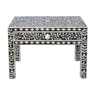 Indian Bone Inlaid NightStand For Sale