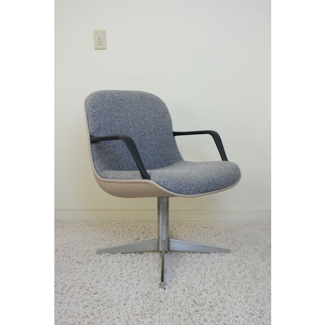 Enjoyable Steelcase Mid Century Modern Swivel Chair Creativecarmelina Interior Chair Design Creativecarmelinacom