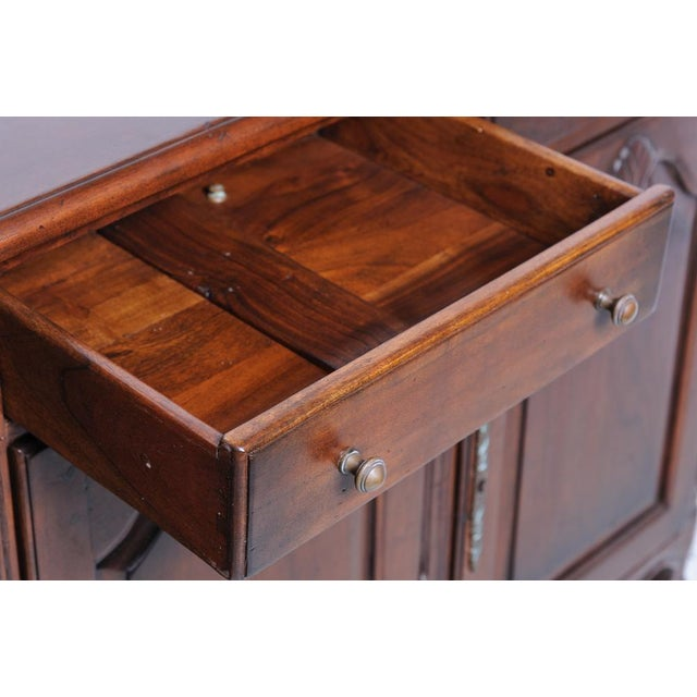 2010s French Walnut Buffet Base For Sale - Image 5 of 7