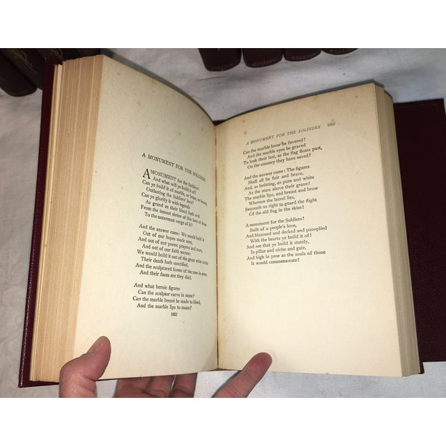 Antique James Whitcomb Riley Books - Set of 10 - Image 8 of 9