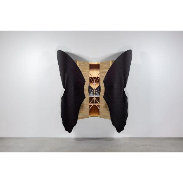 French Jean-Luc Le Mounier, Papillon Cabinet, Fr, 2018 For Sale - Image 3 of 9