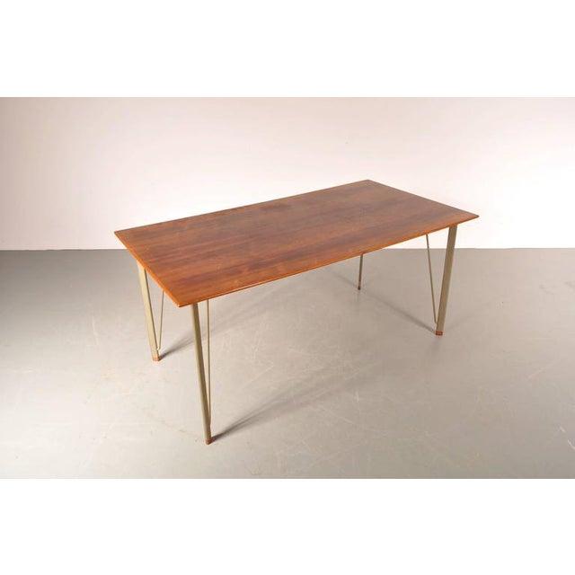 Dining Table by Arne Jacobsen for Fritz Hansen, Denmark, circa 1955 - Image 2 of 10