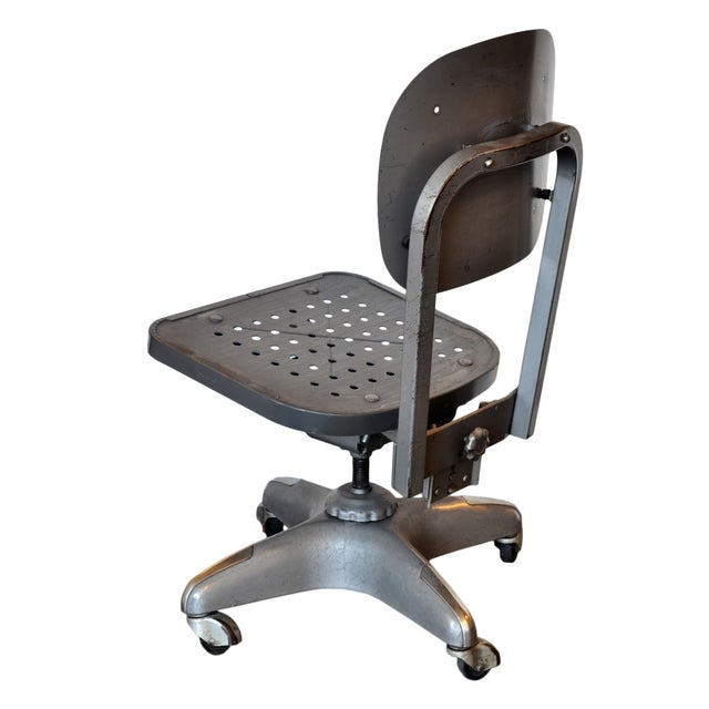 Industrial Industrial Office Chair For Sale - Image 3 of 6