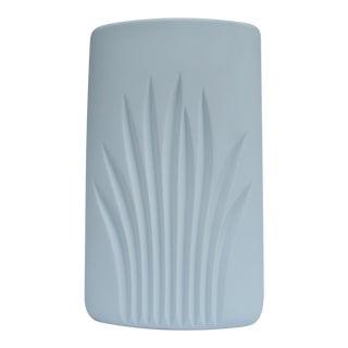 "Vintage Rosenthal ""Studio Linie"" White Matte Porcelain Vase by C. J. Riedel"