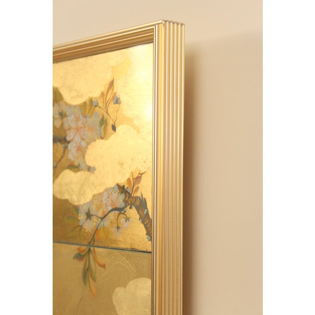 La Barge Chinoiserie Style Mirror, Signed C. Adams For Sale - Image 9 of 13