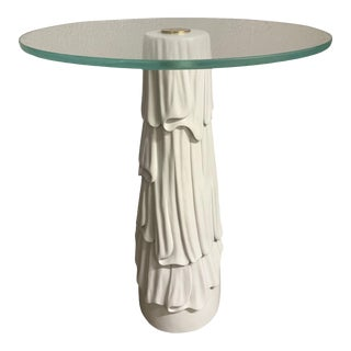 Decorative Hollywood Regency Side Table For Sale