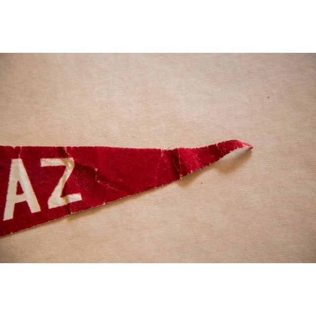 Class of 1990 Alcatraz Brass and Stripes Forever Felt Flag For Sale - Image 4 of 5