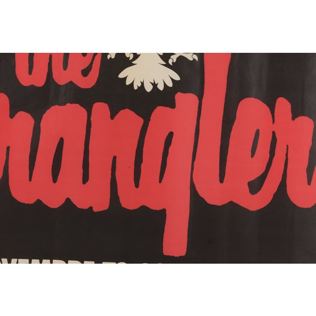 1970s Vintage The Stranglers Promotional Poster For Sale In Philadelphia - Image 6 of 12