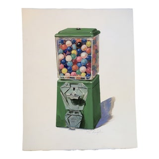 Original Stephen Heigh Pop Art Painting Bubblegum For Sale