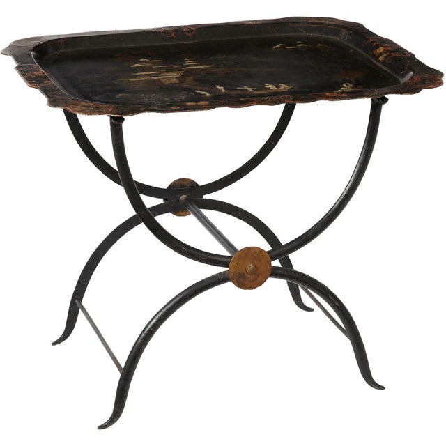 Vintage Chinoiserie Tray Table - Image 1 of 2