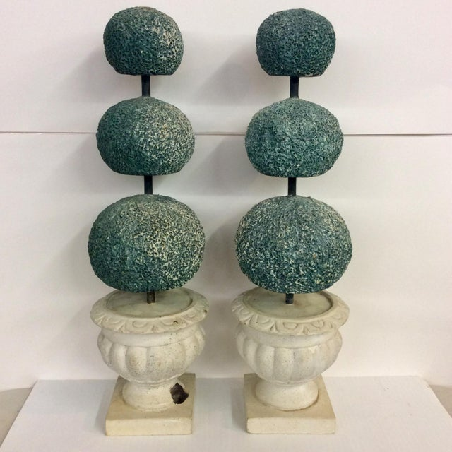 Large Mid Century Italian Ceramic Topiary. Marked on base We ALWAYS accept reasonable offers. Before it's gone forever......
