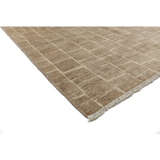 "Moroccan Hand-Knotted Rug - 6' 4"" x 8' 10"" Preview"