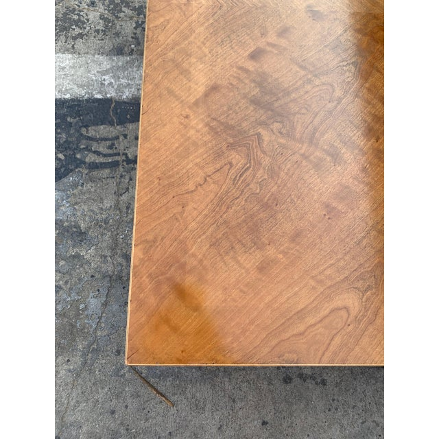 Mid Century Modern Parquet Wood Coffee Table For Sale In Los Angeles - Image 6 of 11