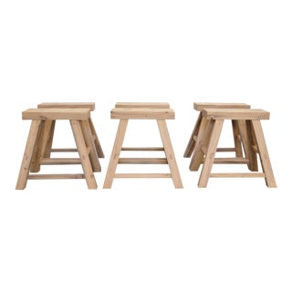 Ozshop Antique Oak Stools For Sale