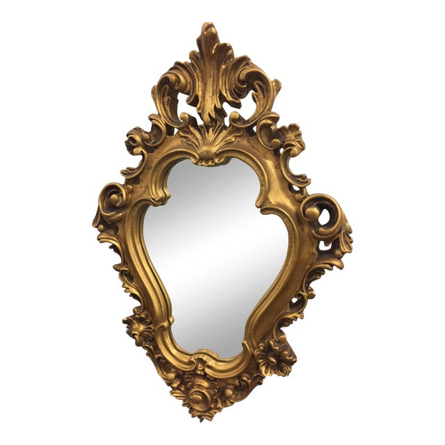 Vintage French Louis XV Style Mirror - Image 1 of 7