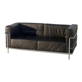 Vintage Le Corbusier Style Sofa For Sale
