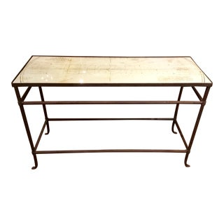 Currey & Co. Aquarius Console Table For Sale