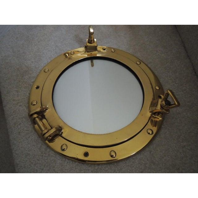 Vintage Mid Century Nautical Mirrors A Pair Chairish