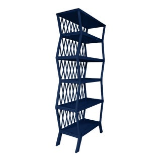 Hollywood Etagere - Navy Blue For Sale