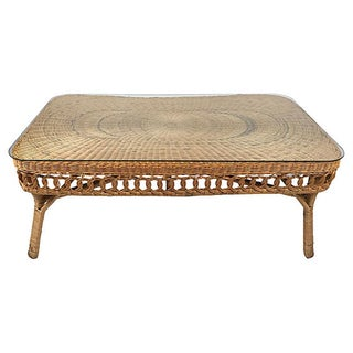 Wicker Coffee Table Preview