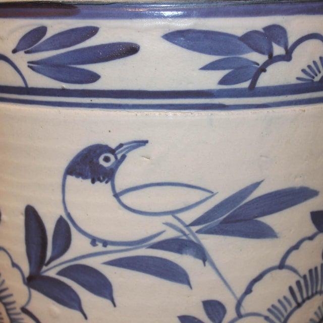 Blue & White Grain Pot - Image 2 of 5
