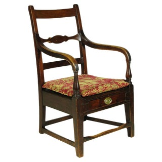 19th C. Federal Arm Chair For Sale