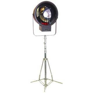 Early Mid-Century Kliegl Bros. Cinema Metal Halide Studio Lamp Prototype For Sale