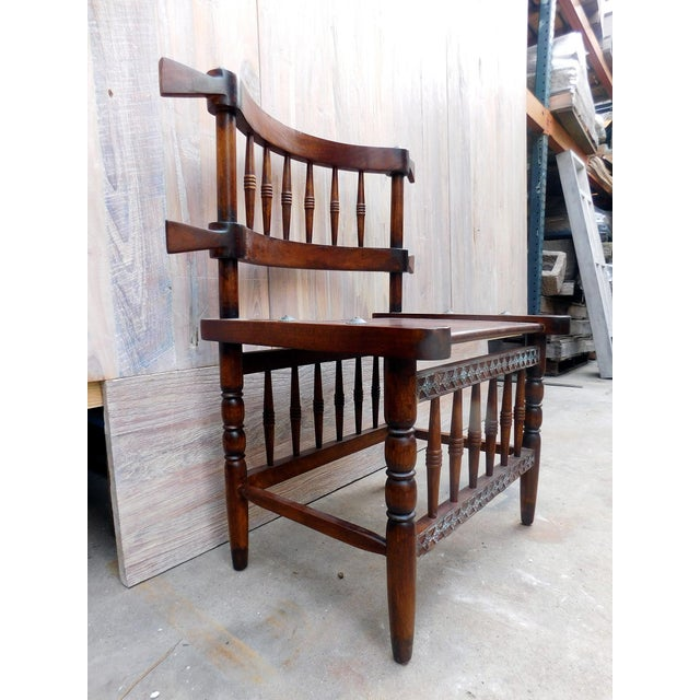 African Chieftan Inspired Chair - Image 3 of 5