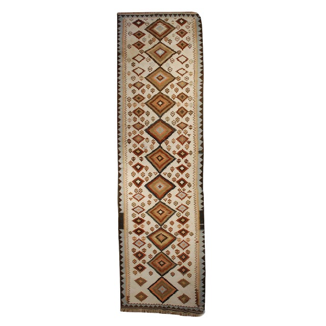 """Early 20th Century Kilim Runner - 48"""" x 159"""" For Sale"""