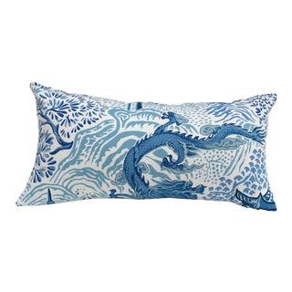 Chinoiserie Dragon Pillow