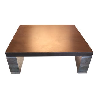 Vintage 1980's Italian Coffee Table For Sale