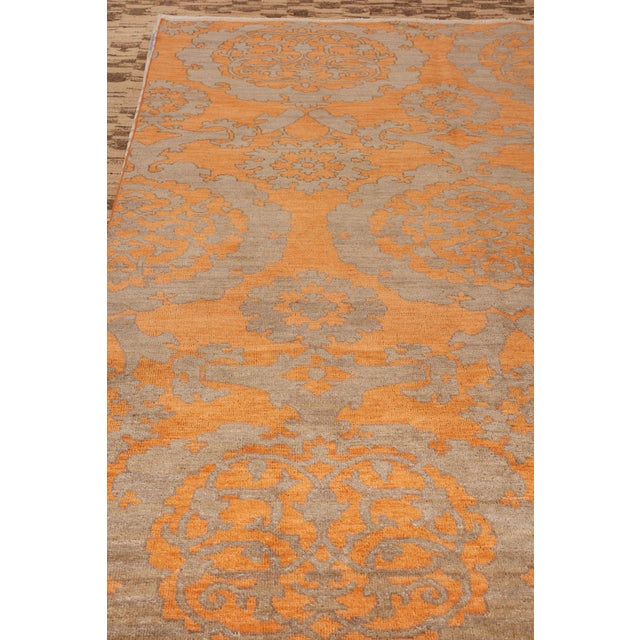 Rugs and Floor Coverings Rug Pattern: Sadri Dimensions: 6' x 9' Fiber Content: Wool Construction: Hand-Knotted Colorway:...