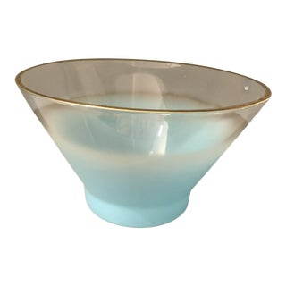 Mid Century Vintage Bowl by Blendo Co. For Sale