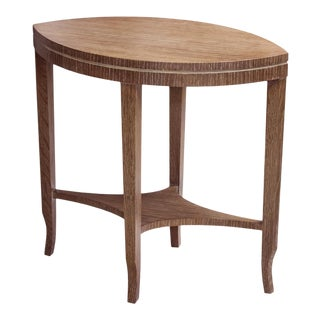 Kindel Knowledge Oak Spear Table For Sale